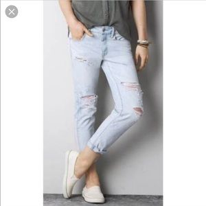 NAME YOUR PRICE American Eagle boy crop pants